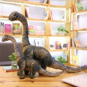 Giant Size Dinosaur Plush toy Lifelike Earthquake dragon Tyrannosaurus Rex Dolls Soft Stuffed Animals Boys Birthday Gift 201210