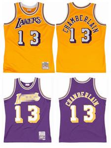 VintageLos AngelesLakersMitchell Ness 13 Wilt Chamberlain 1971-72 Authentic Jersey