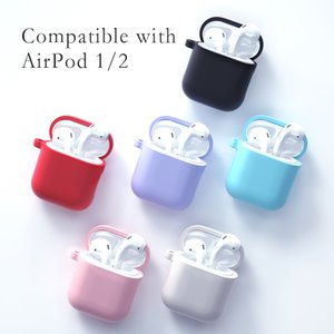 Customize Waterproof Shockproof Aipods Case Protective Silicone Covers For Airpod 2 Cover Case For Apple Airpods