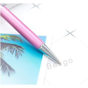 Fine Crystal Ballpoint Pen Fashion Creative Stylus Touch Pen For Writing Stationery Office School Ballpen Black Bal jllqvD eatout