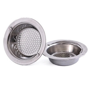 Kitchen Mesh Sink Filter Drain Pool Sink Colanders Sewer Stainless Steel Net Filter Bathroom Sinks Filter Portable Sink Strainer 21 K2