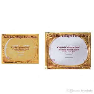 Corea Oro Oro máscara máscaras Fa Cuidado hidratante de colágeno facial antienvejecimiento máscara de colágeno Máscara Piel Cosméticos cristalino del oro de Corea del Fa Svnb