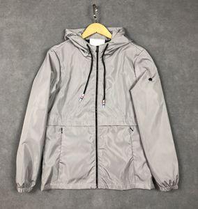 Tasarımcı Erkek Ceket Kaban Sonbahar Windrunner Ceketler Marka Tasarımcısı Spor Rüzgarlık Rahat Ceket Erkekler Giyim Tops Yeni