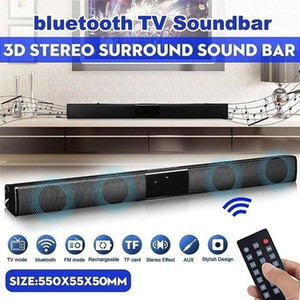 2020 Latest Wireless Bluetooth Soundbar Stereo Speaker TV Home Theater Sound Bar bluetooth speaker1