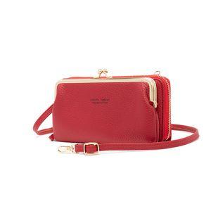 2021 new style fashion ladies wallet mobile phone pocket mini shoulder bag small change bank card mini bag