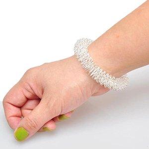 الرجال والنساء المعصم اليد الوخز بالإبر سوار معدني تدليك حلقة العناية الصحية أداة المعصم الاسترخاء مدلك اللوازم 1