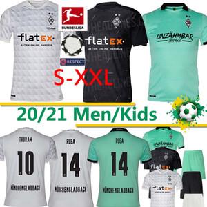 Borussia Mönchengladbach Fußball-Trikots PLEA Mönchengladbach Thuram Fußball JERSEY BENSEBAINI HERRMANN Embolo IHN KIND Hemd 2020 2021