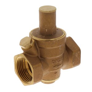 1 Inch válvula DN25 água Regulador Válvula de bronze grosso Pressão Balancing Regulador Redutor Manutenção Válvula