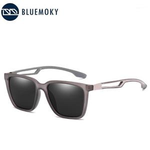 Bluemoky Square TR90 Polarize Güneş Gözlüğü Erkekler Serin Açık Sürüş Seyahat Güneş Gözlükleri Ultralight Gözlük UV400 Shades Gözlük1