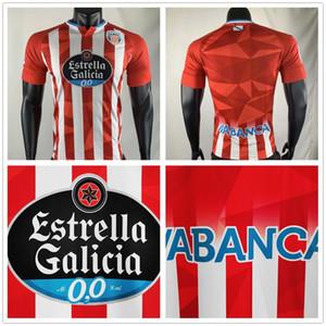 2020 2021 CD Lugo Camiseta de Fútbol El Hacen Chris Ramos Home Red Xavi Torres C.D. Lugo 20 21 de Andalusia Hugo Rama Jersey di calcio personalizzato