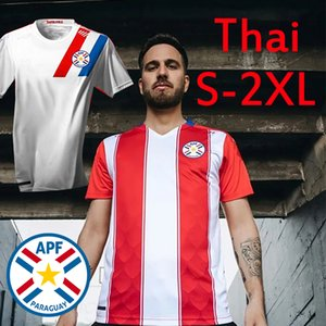 2020 2021 Paraguay Nouveau Soccer Jerseys National Jerseys Copa América Sanabria González Romero Ayala Hombres Camisetas de Fútbol Hommes Football Shirts