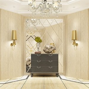 3D DIY Acrylic Mirror Stickers House Decoration Wall Decals Art for Living Room Home Decor