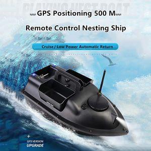 Sürüm Yuvalama Bait Uzaktan Kumanda Gemi Balıkçı Tekneleri Yükseltildi Yeni 500M Yüksek Güç RC Balıkçılık Finder Bait Tekne Oyuncak