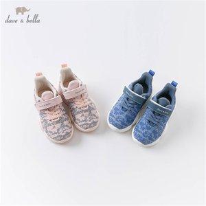 DB16344 Dave Bella Autumn Baby Girl Boys Fashion Canvas New Born Unisex Casual Shoes Y201028