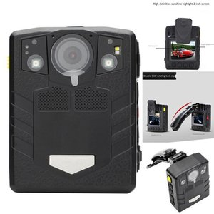 Body Worn Beach Fotocamera HD Night Vision 1296P Camicia DVR impermeabile Security CAMCORDERS1