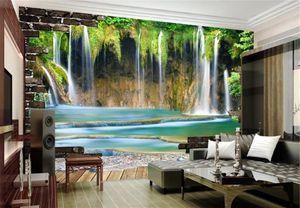 3D Landscape Living Room Bedroom Background Wall Decoration Mural Wallpaper