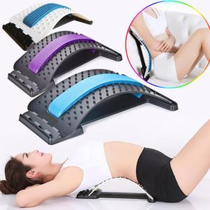1pc Zurück Stretch Ausrüstung Massage Massageador Magie Stretcher Fitness Lordosenstütze Entspannung Spine Pain Relief