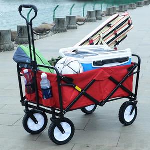 여행 및 쇼핑 ALWAYSME 접는 야외 유틸리티 접이식 쇼핑 카트 접이식 쇼핑 카트화물 트롤리 카트