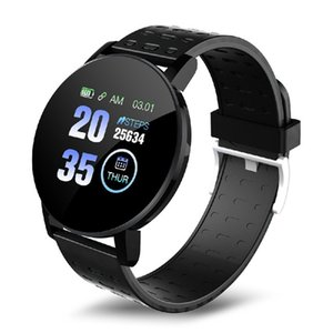 119 Plus Smart Bracelet Heart Rate Smart Watch Man Wristband Sports Watches Band Waterproof Smartwatch Android 119Plus