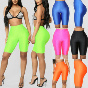Fashion Women Cycling Shorts Dancing Gym Biker Slim Active Sports Solid Color Sexy Skinny Shorts 2020 Summer Gym Clothing