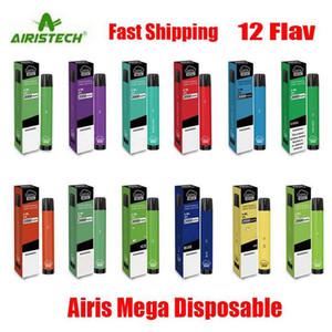 Original Airis Mega Disposable Pod Device 2000 Puff 1050mAh 6ml Prefilled Portable Vape Stick Pen Bar Plus Flow Bang XXL Max 100% Authentic