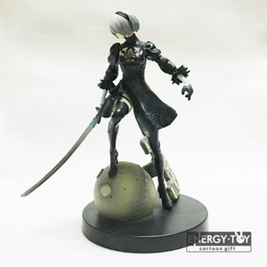 Games Figures Anime Yorha No .2 Type B Nier Automata 6 inch Pvc Action Figure Doll Model Toy Cool Girl