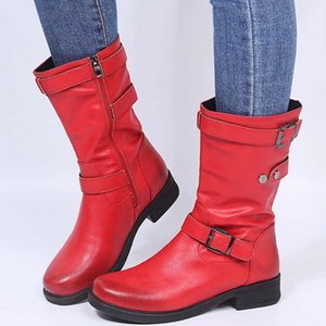 RIBETRINI New Arrivals Classic Big Size 43 Riding Boot mid-calf Chic high-quality winter boots Boots Women