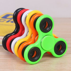ABS Fidget Spinner EDC Spinner For Autism ADHD Anti Stress Tri-Spinner High Quality Adult Kids Funny Toys