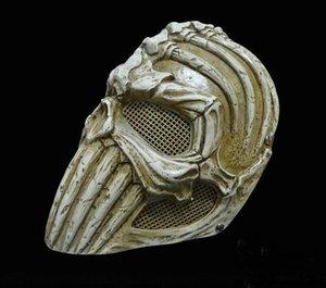 Treasure viso protettiva Craft Super Edizione speciale resina FRP della mascherina protettiva Bone DO8ta Maschera fredda Treasure facciale Craft protezione Icul