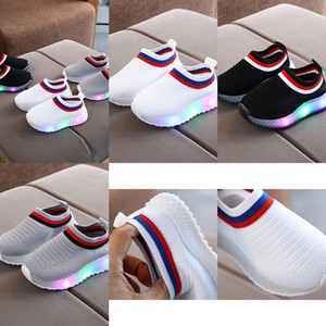 LED INS Toddler Light Shoes Kids Boys Girls Baby Summer Children Sneakers Infant Outdoor Running Sport Shoes Soft breathable Comfortabl