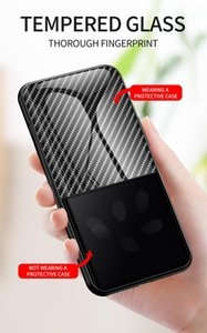 Glossy Gradient Carbon Fiber Design Tempered Glass Phone Case For Oneplus Nord N100 N10 8 Pr jllEaz infant2005