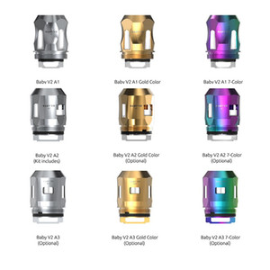 Replacement coils for SMOK TFV8 Baby V2 Tank Replacement A1 0.17ohm A3 0.15ohm Single Dual Triple Coil For TFV8 Baby V2 Tank