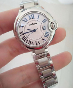 Hot Sale Fashion lady watches man women wristwatch silver Stainlesa Steel classic models Wristwatches female male clock with original box