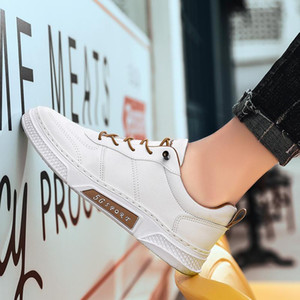 New 2020 City Men Casual Shoes Brand Walking Breathable Footwear Shoes Male Designer Lace Uen White Runing Shoes %