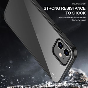 2020 Phone Case For Iphone 12 Crystal Clear Ultra-Thin Slim Fit Soft Tpu Mobile Cover For Iphone 12 Pro Max
