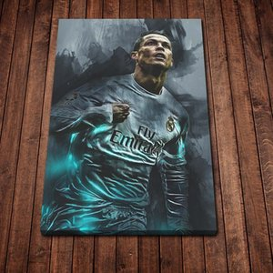 Home Screen Ronaldo Canvas Painting Wall Art Print Poster Picture Decorative Painting Living Room Home Decoration