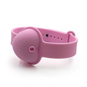 Hand Sanitizer Dispenser Bracelet Love Heart Kid Liquid Soap Bracelets Bathroom Silicone Wearable Portable Wristband New Arrival 1 6lc G2