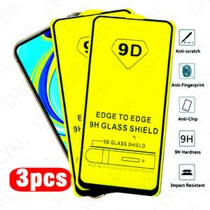 redmi note 9s Glass 9D Full Glue protective Glass For xiaomi redmi note 8 9 pro max 8t 8a 7a screen protector Film