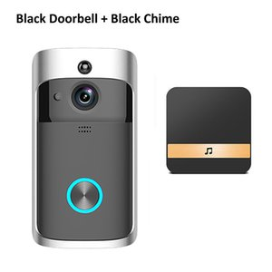 FreeShipping Smart Doorbell Camera Wifi Wireless Call Intercom Video-Eye for Apartments Door Bell Ring for Phone Home Security Cameras