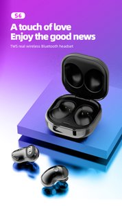 1pcs S6 Wireless Headphones Bluetooth Earphone Stereo BT 5.1 TWS Earbuds Handsfree Headset with Microphone Headphone for Buds Live