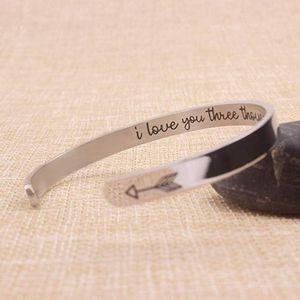 Fashion Jewelry Bracelets Multilayer Handmade Hollow Wristlet Pendant Bracelet Titanium Steel Bangle Treasured Presents Bracelet