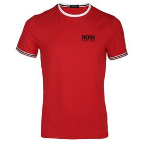Дизайнерские Мужские футболки Марка Одежда Европа и Соединенные Штаты в мире печать очень совершена Глава Там Ярлыкбосс