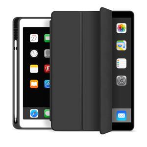 Custodia per iPad 10.2 2.019 2.018 2.017 9,7 Mini Smart Cover 5 Pro 10.5 Air 3 con il supporto della matita per Case generazione iPad 7 ° 6 ° 5 °
