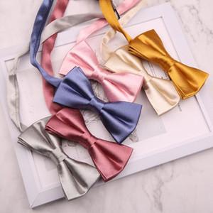 New Handmade Bow Ties for Mens Shirt Bowtie Neckties For Men Wedding Party Business Suits Gravata Women Bowknots Cravats