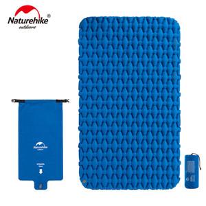 Naturehike Air Bag Typ Leichte Feuchtigkeitsdichte Luftmatratze Aufblasbare TPU Nylon Outdoor Zelt Schlafmatratze Individuelle Campingmatte