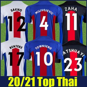 2020 2021 Inglaterra Clube de futebol The Eagles Jersey Man Kit Kit Batshuayi Zaha Football Jersey The Glaziers Townsend Cenk Tosun Soccer Shirts