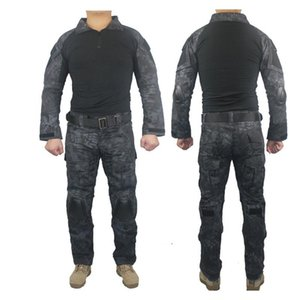 Outdoor Tactical Hunting Combat G3 Training Uniform Sets Suit Shirt Pants A-TACS FG Multicam ACU Army Clothes Clothing