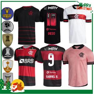 20 21 Flamengo Jersey 2020 2021 Guerrero Diego Vinicius JR Soccer Jerseys Flamengo Gabriel B Sport Football Adulto Adulto Camicia uomo e donna
