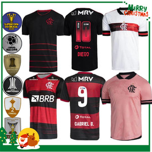 20 21 Flamengo Jersey 2020 2021 Guerrero Diego Vinicius JR Fussball Jerseys Flamengo Gabriel B Sport Fußball Erwachsene Männer und Frau Hemd