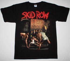 Skid Row раба Grind'91 Glam Rock Skidrow Доккен Реттого Новая черный персонализированный пользовательский Top Sport Толстовка с капюшоном Толстовка Футболка